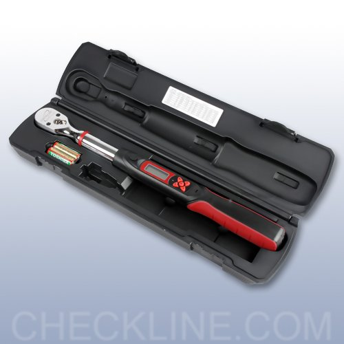 "30 N-m Drive Size 1//4/"" DTW-265i Electronic Torque Wrench Capacity 265 in-lb"