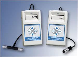 DCF-2000 and DCN-2000 coating thickness gauges