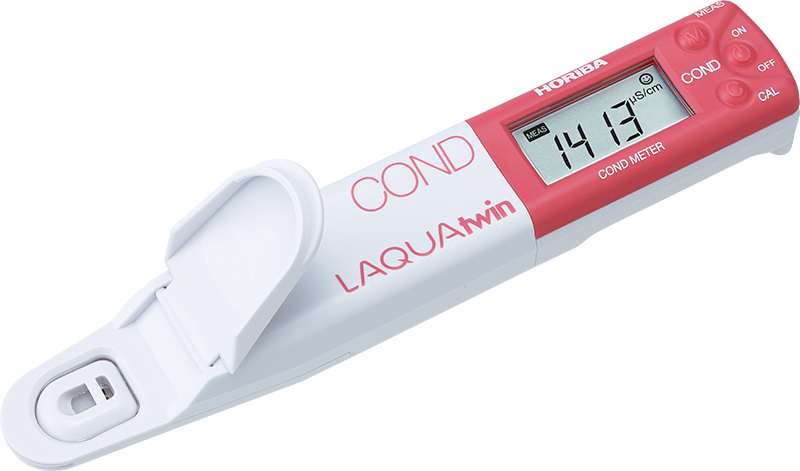 Horiba B 173 Conductivity Meter : Horiba laquatwin ec compact water quality