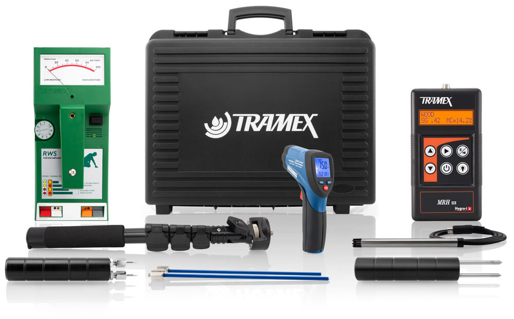 Tramex CALBOXMRH3 Calibration Check Box for Digital Hygrometer MRH III