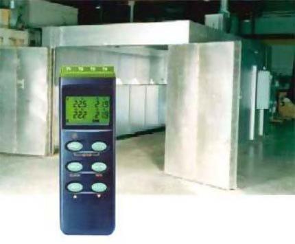 batch oven temperature data logger