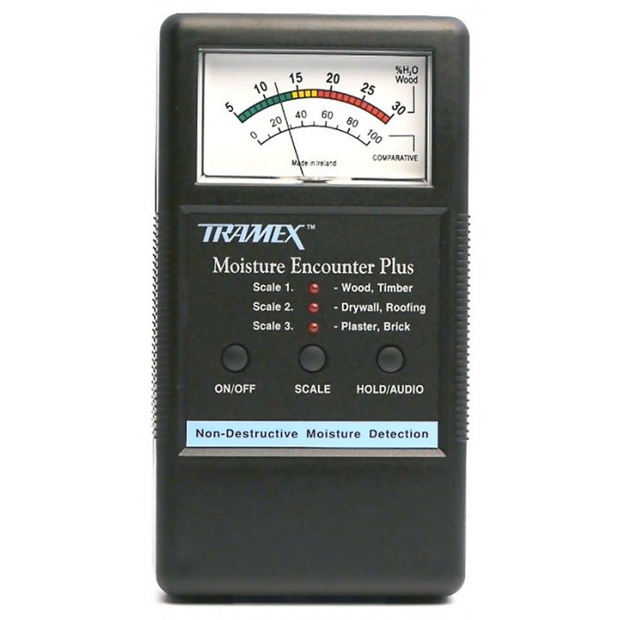 Calibration Check Moisture Encounter TRAMEX CALBOXMEP